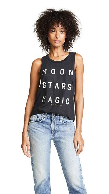 Spiritual Gangster Moon Stars Magic Studio Tank