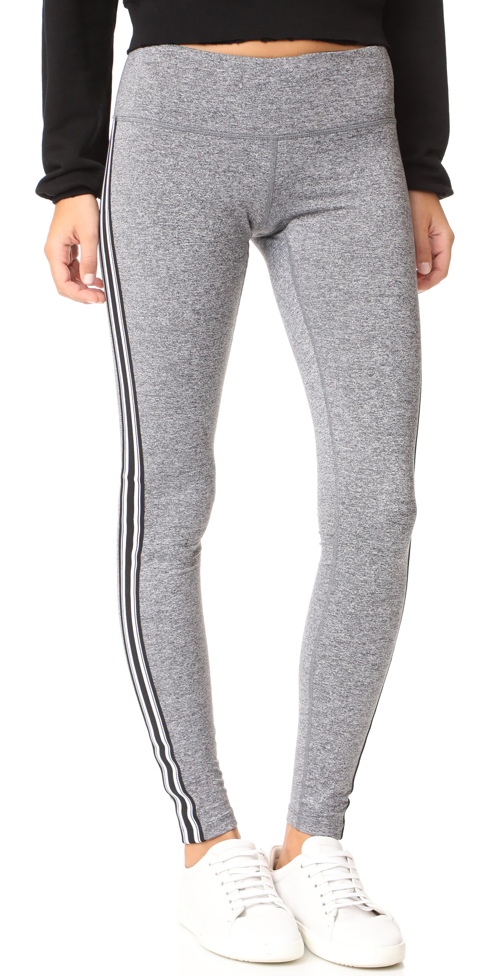 Athletic Stripe Practice Leggings Spiritual Gangster