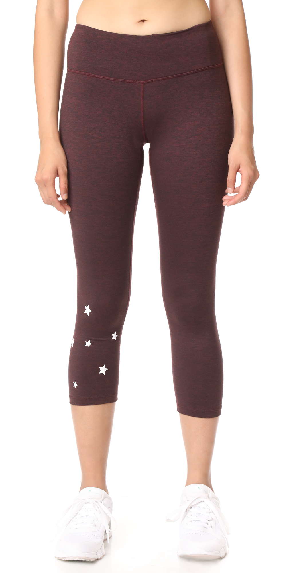 Stars Power Crop Leggings Spiritual Gangster
