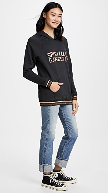 Spiritual Gangster SG Varsity Downtown Hoodie