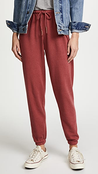Heart Embroidery Favorite Sweatpants
