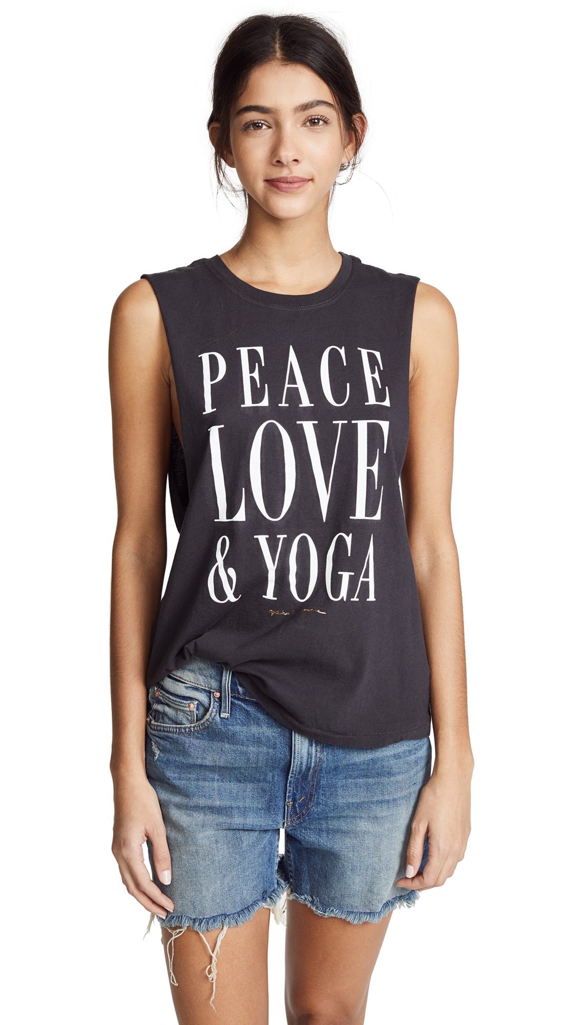 PEACE LOVE YOGA TANK