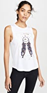 Spiritual Gangster Dreamers Active Muscle Tank