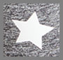Medium Heather Grey Star Print