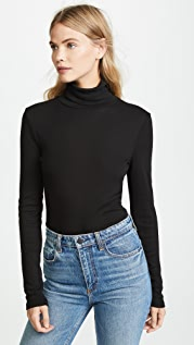 Splendid 1x1 Turtleneck Top
