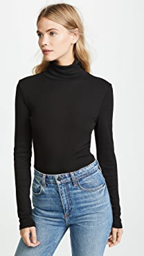 Splendid 1x1 Turtleneck