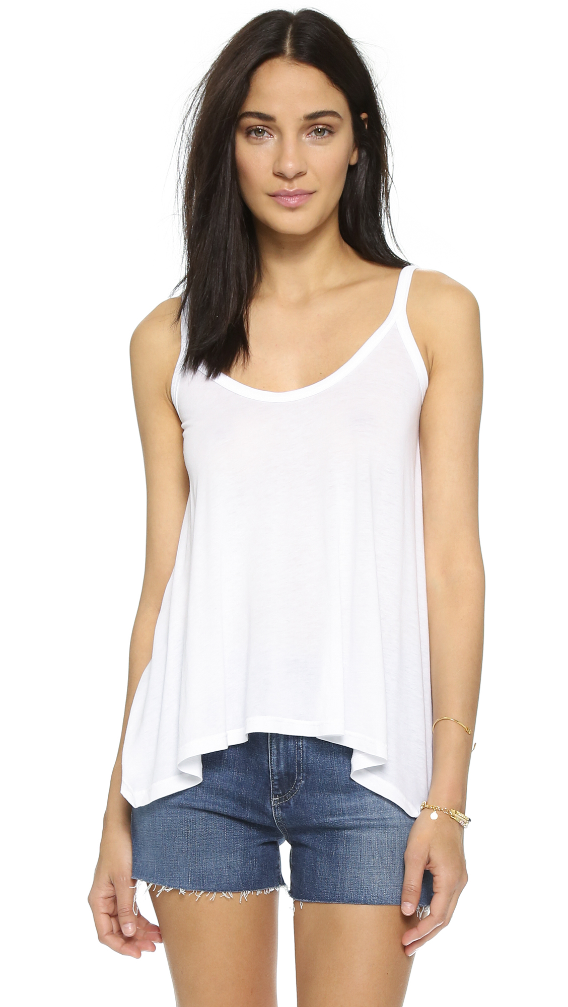 Splendid Light & Fashionable Tank - White