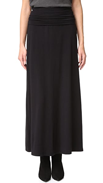 Splendid Maxi Tube Skirt / Dress - Black