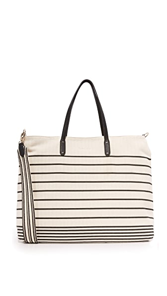 Splendid Emerald Bay Tote - Black Stripe