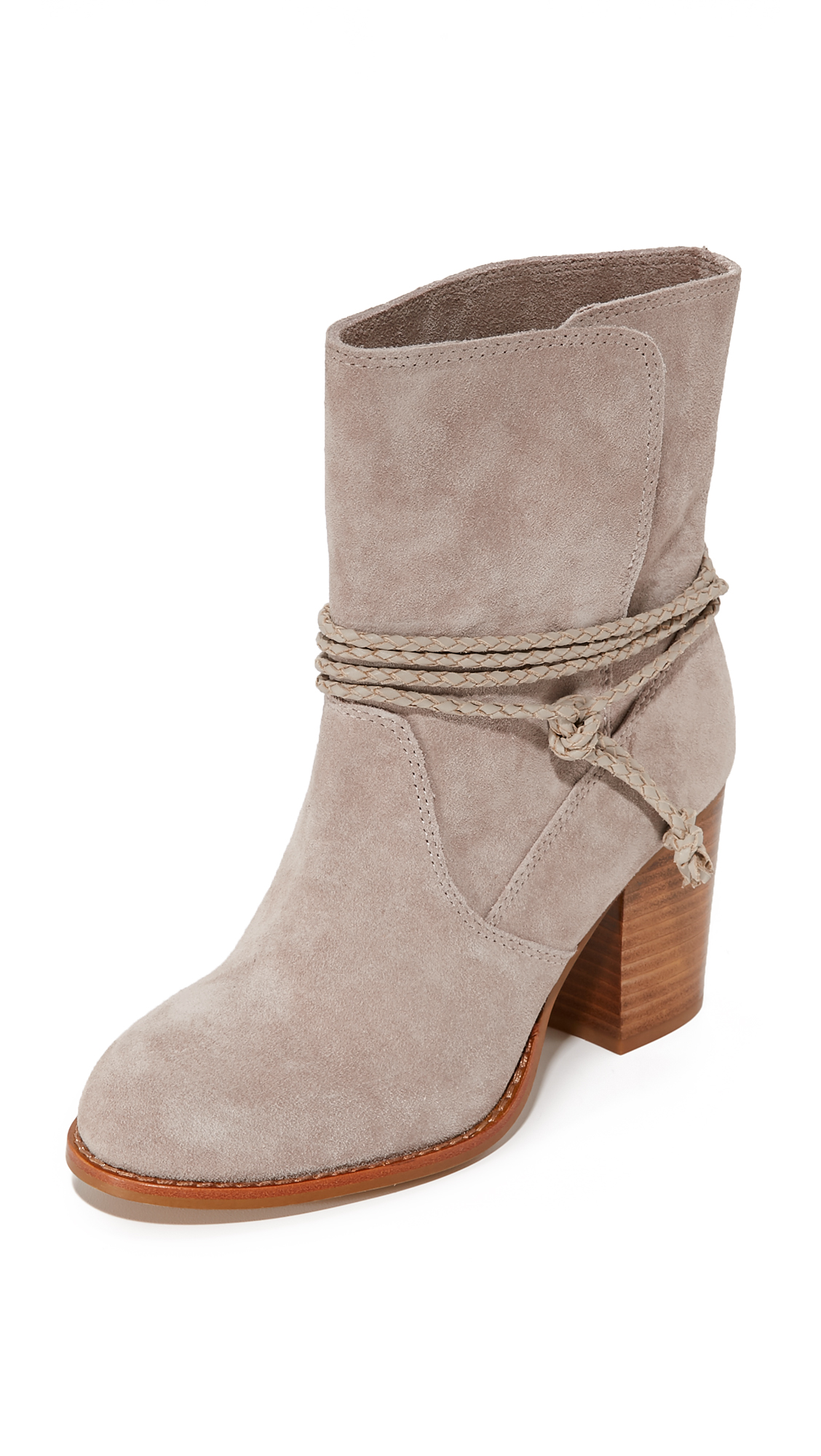 Splendid Larchmonte Slouchy Booties - Taupe