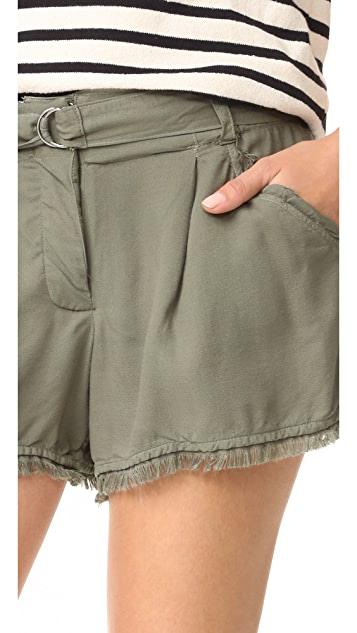 Splendid Crosshatch Shorts