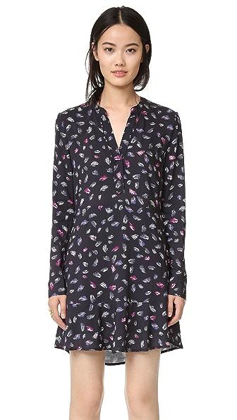 Splendid Birdseye Print Dress