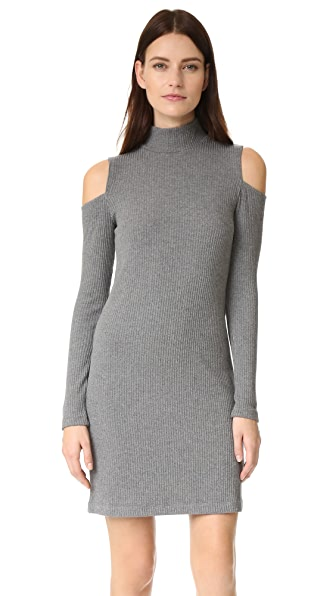 Splendid Ribbed Knit Dress