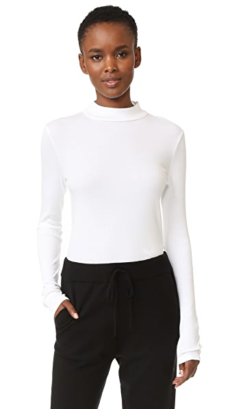 Splendid 1x1 Modal Ribbed Turtleneck