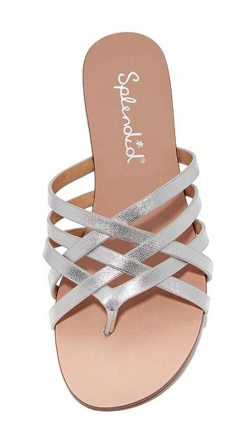 Splendid Jojo Leather Slides