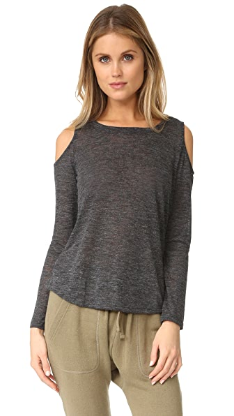 Splendid Cold Shoulder Top
