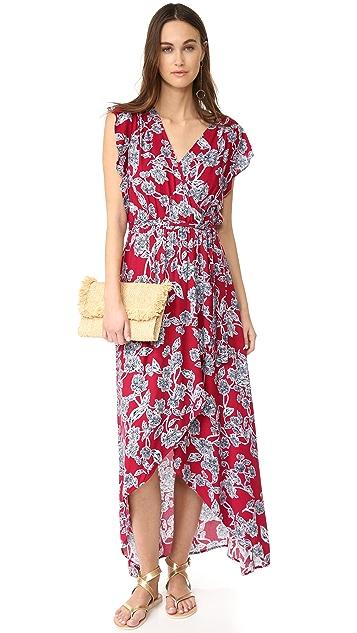 Splendid Etched Floral Dress