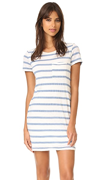 Splendid Cliffbrook Melange Stripe Dress