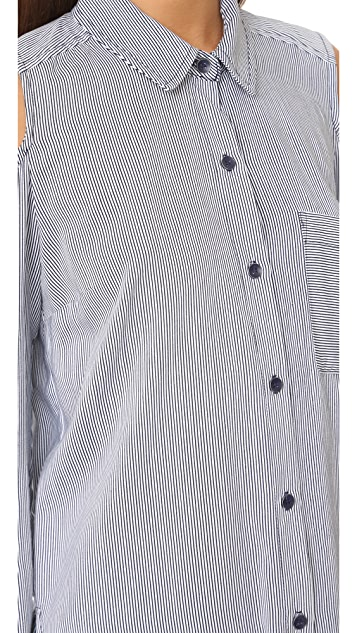 Splendid Boardwalk Stripe Button Down