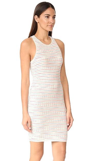 Splendid Stripe Rib Knit Dress