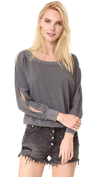 Splendid Cutout Pullover - Lead