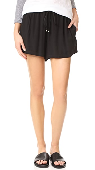 Splendid Voile Shorts - Black