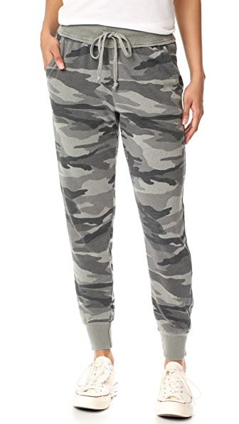 Splendid Camo Active Jogging Pants