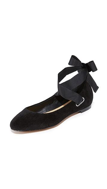 Splendid Renee Wrap Ballet Flats