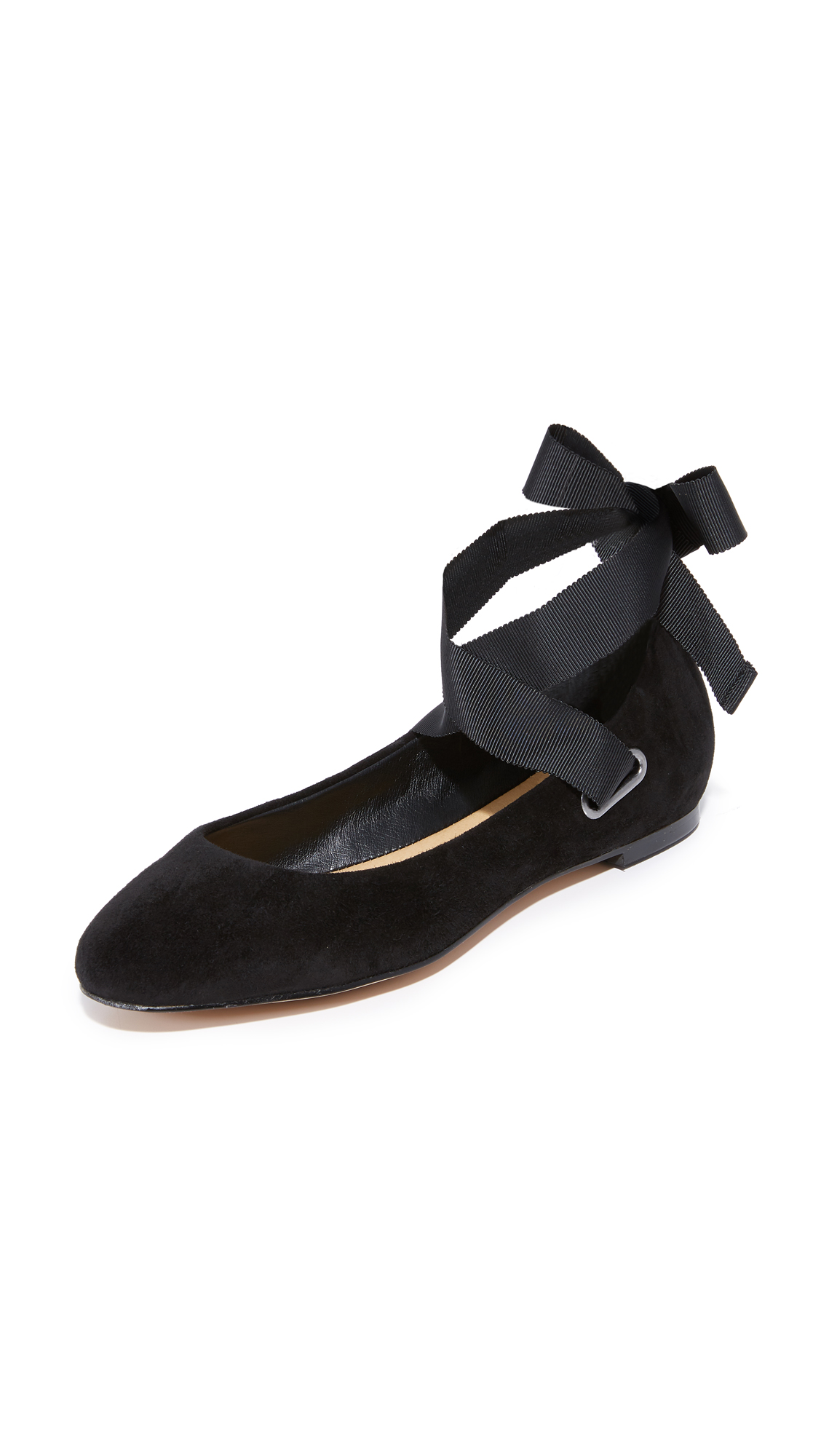 Splendid Renee Wrap Ballet Flats - Black
