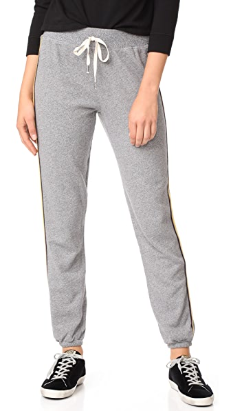 Splendid Warwick Active Sweatpants - Heather Gray