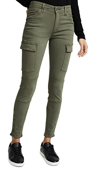 Splendid Skinny Cargo Pants In Fatigue