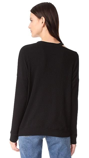 Splendid Sylvie Rib Sweater