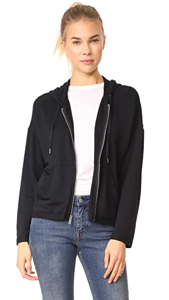 Splendid Brushed Super Soft Sweatshirt In Black
