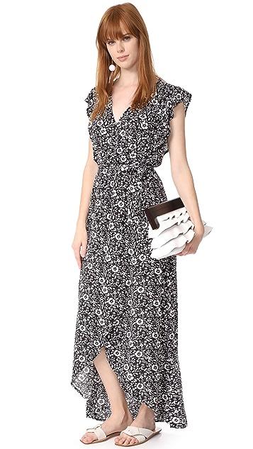 Splendid Платье с фигурной цветочной отделкой