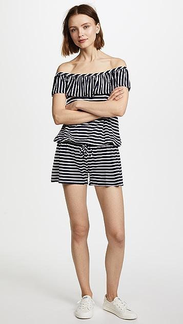 Splendid Stripe Covers Romper