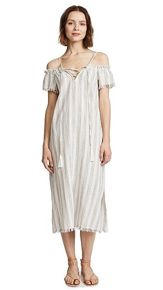 Splendid Covers Dress In White