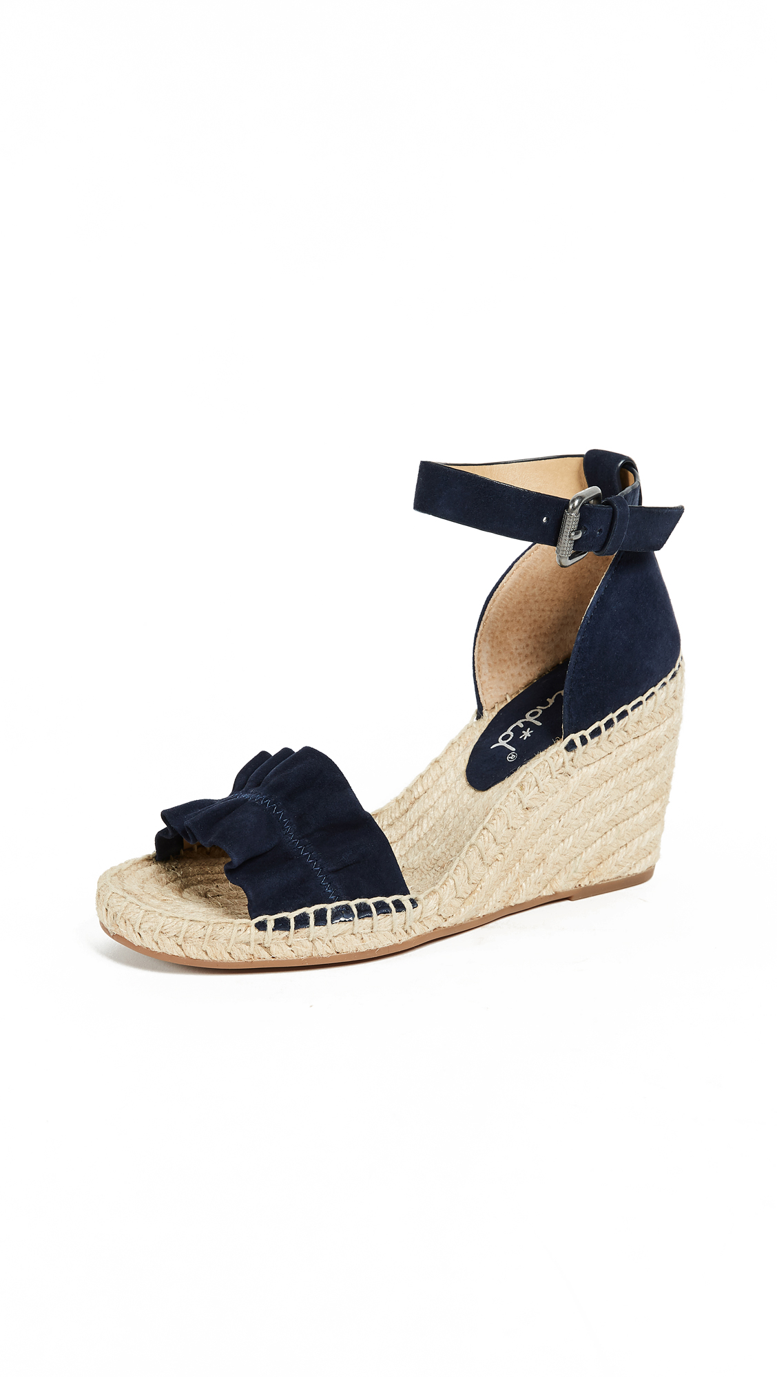 Splendid Bedford Wedge Espadrilles - Navy