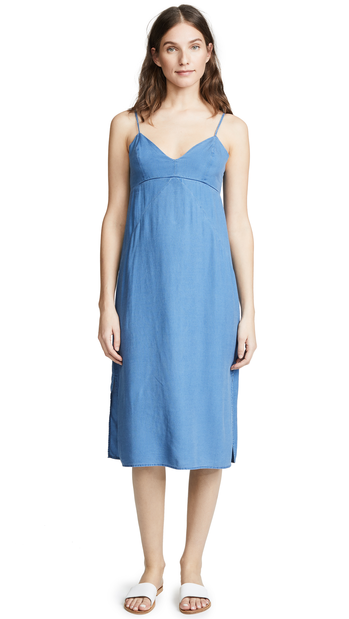Splendid Skylight Slip Dress - Medium Wash