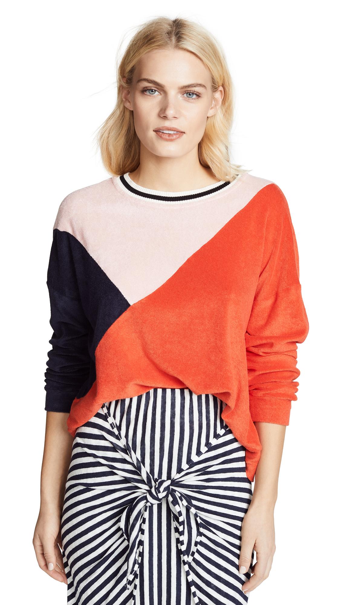 x MARGHERITA MISSONI Sportivo Sweatshirt in Red. - size M (also in L,S,XS) Splendid