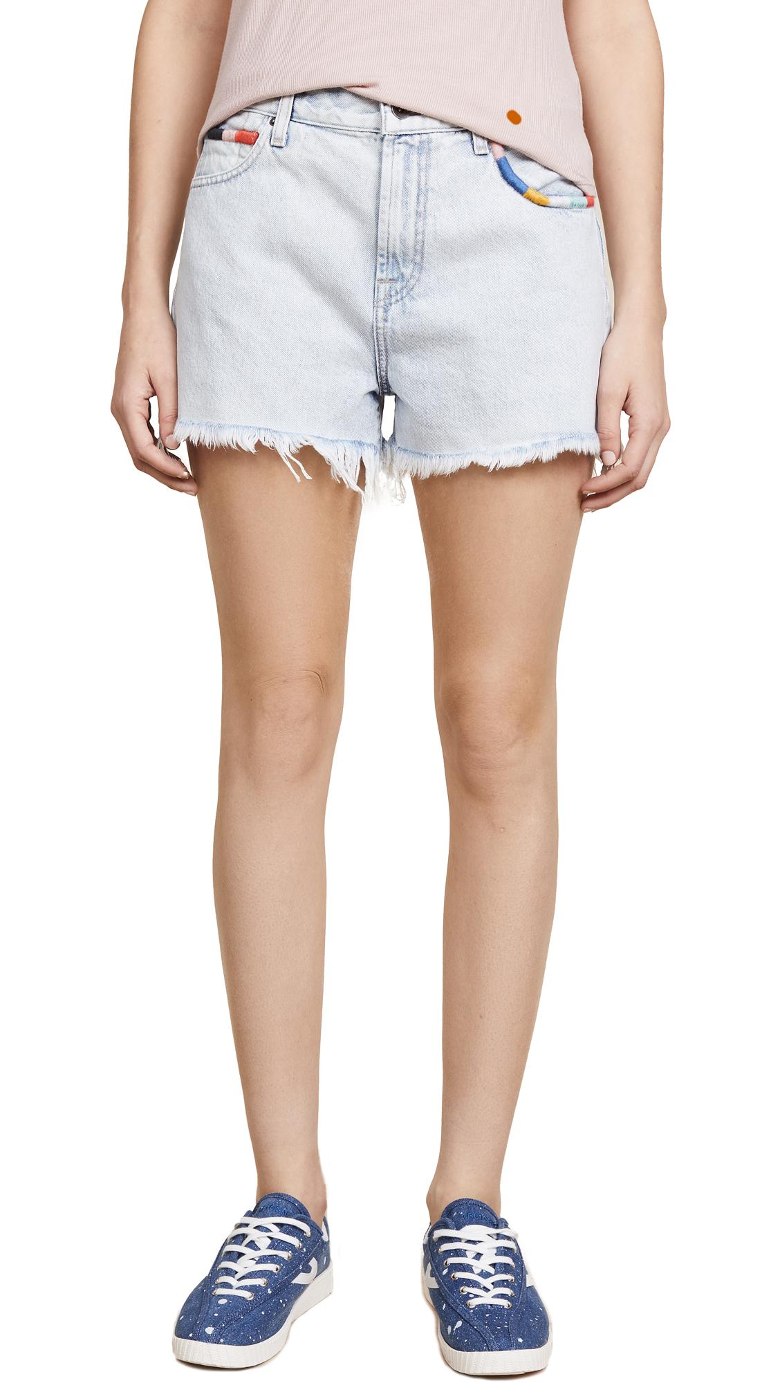 Splendid x Margherita Amore Jean Shorts