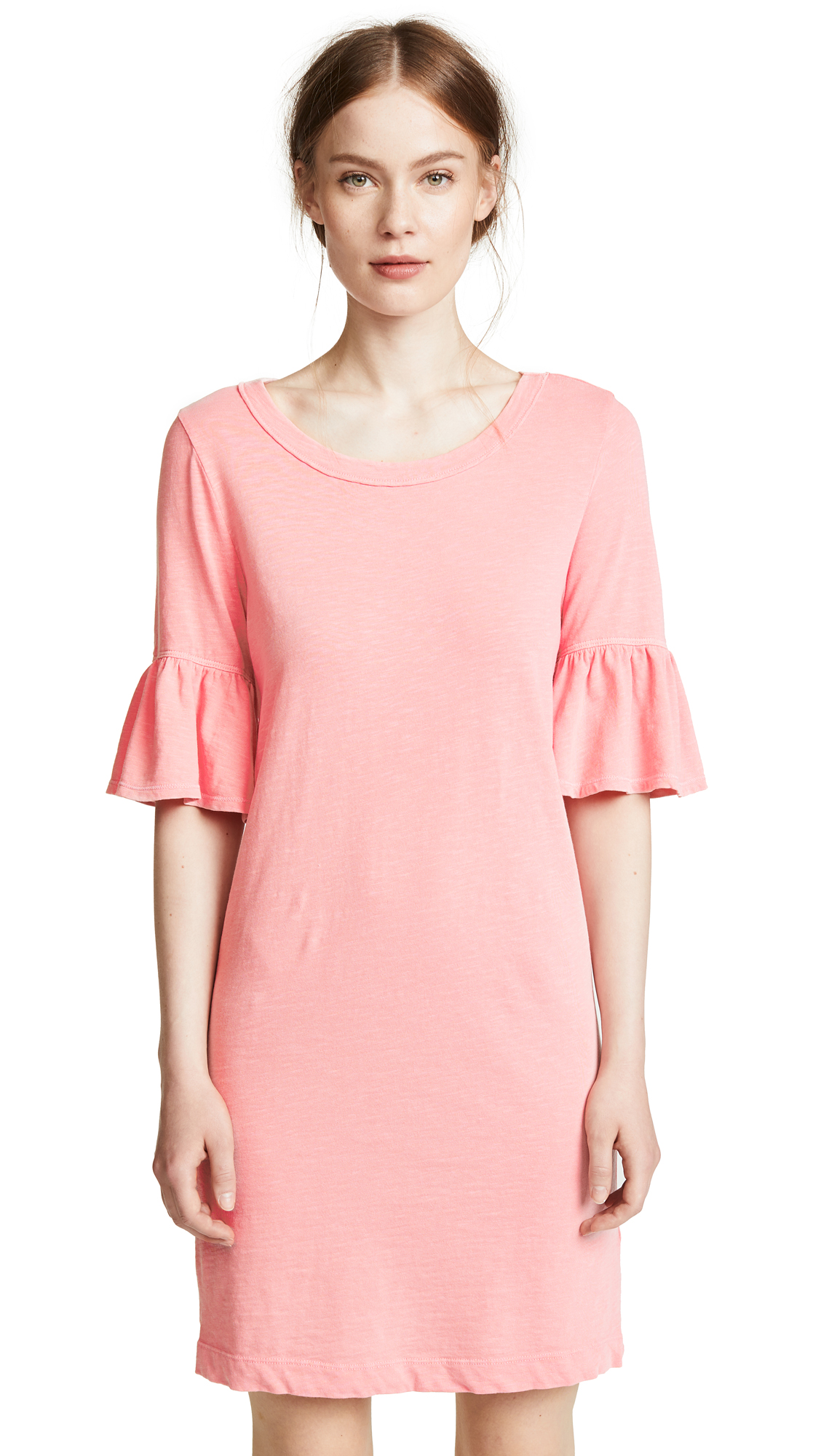 Splendid Ruffle Sleeve Tee Dress online sales