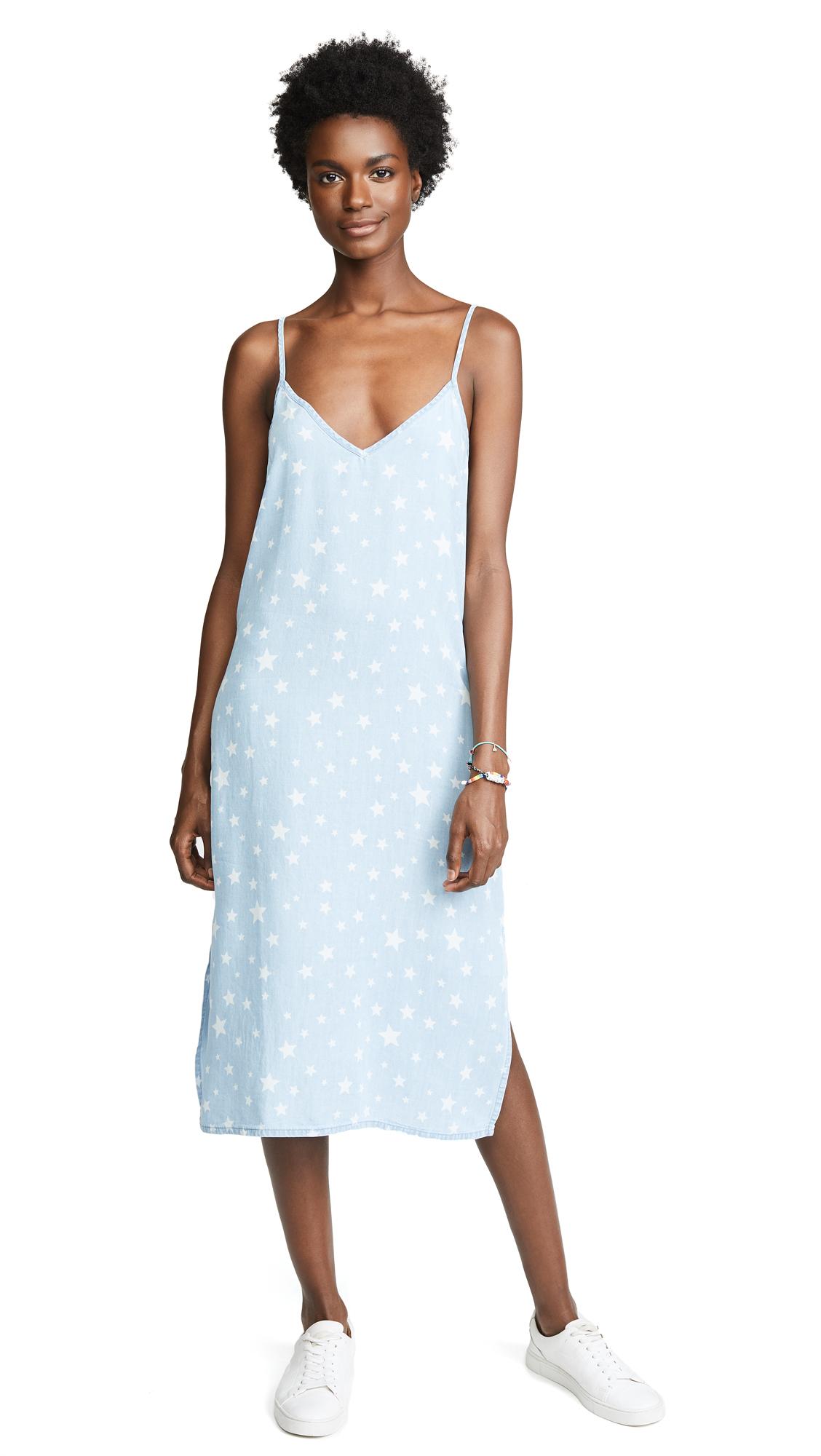 Splendid Americana Slip Dress - Light Wash