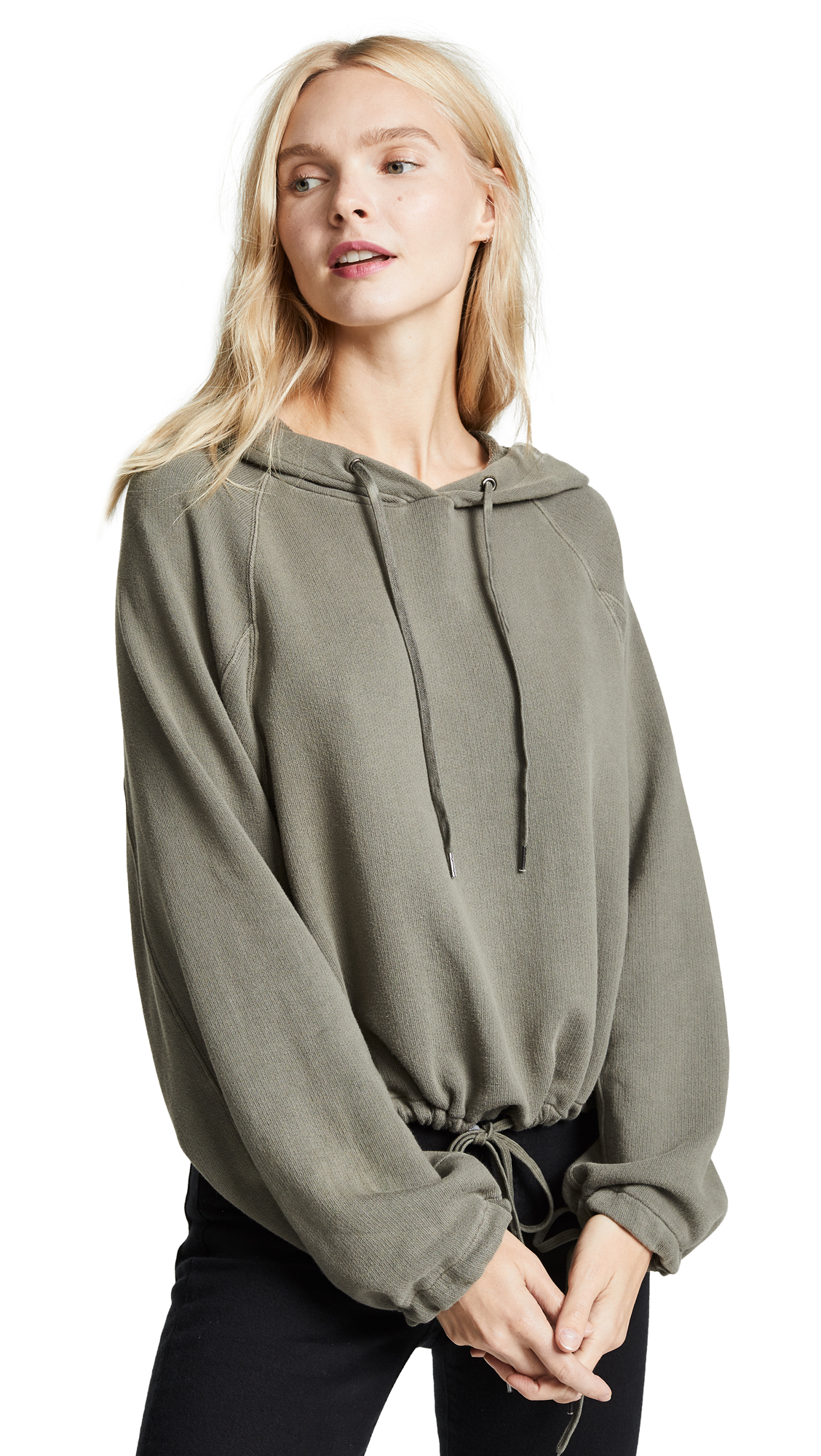 Crescent Hoodie, Army
