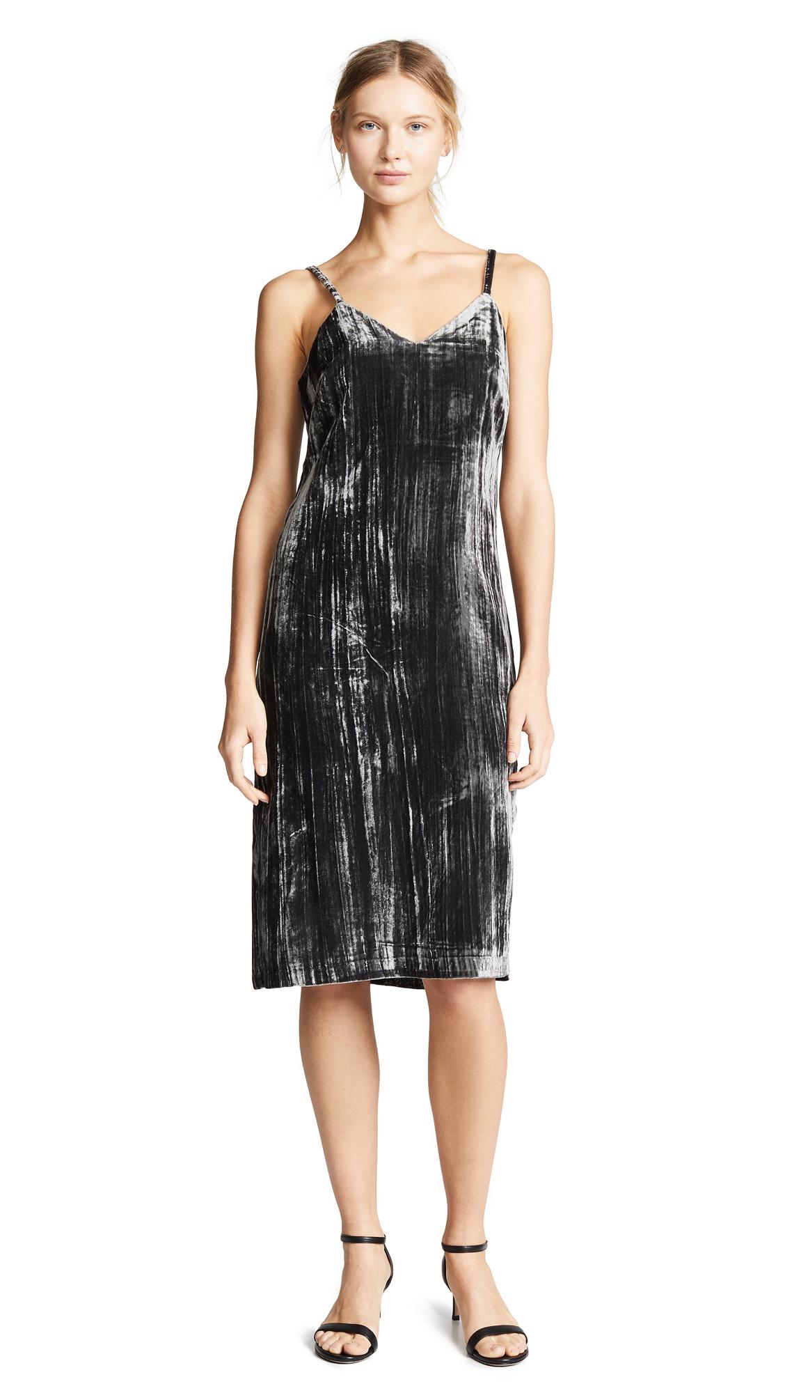 f54c33cebc91 Splendid Moonstone Velvet Slip Dress | SHOPBOP