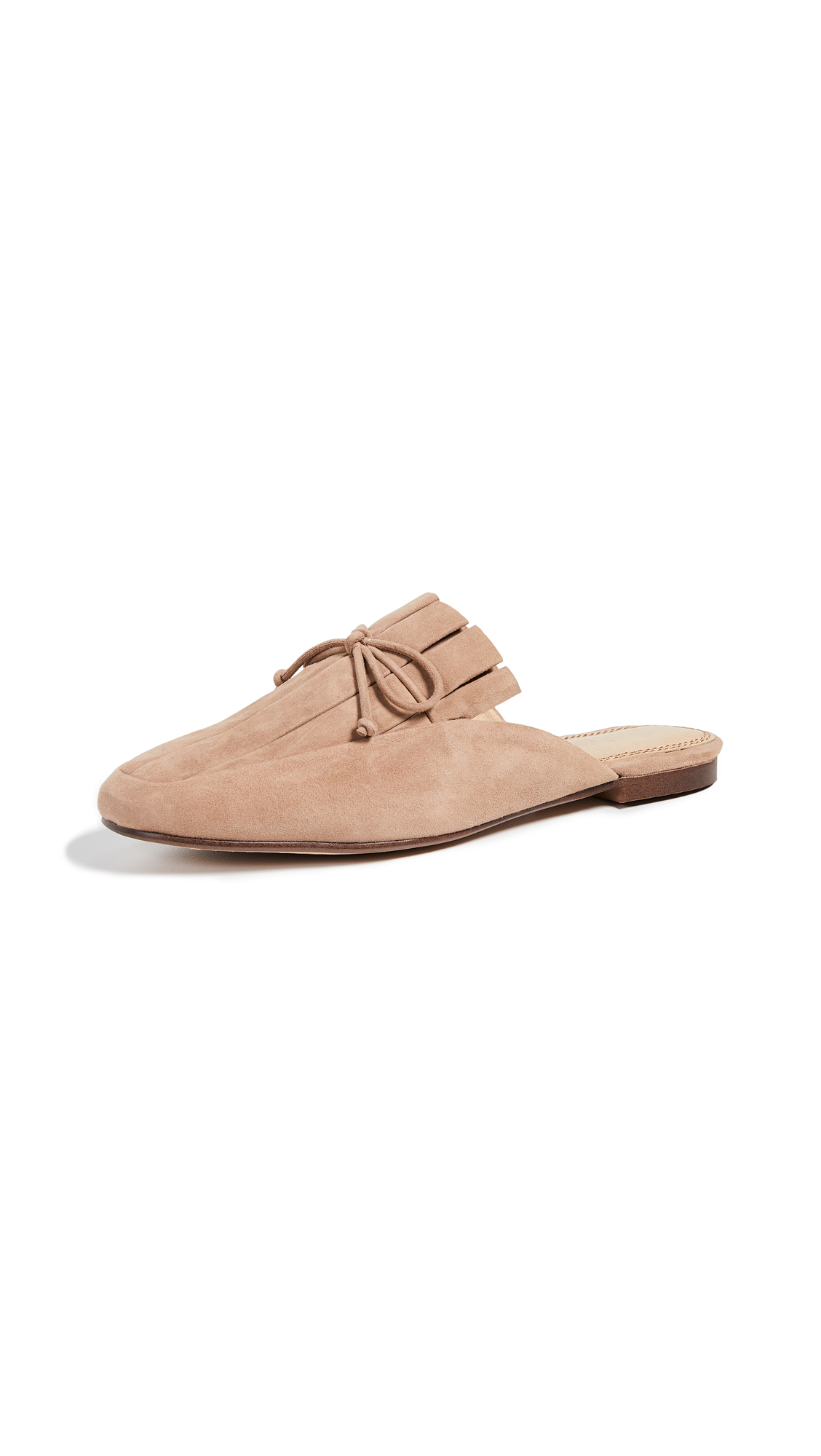 Splendid Chandler Mules - Dark Nude