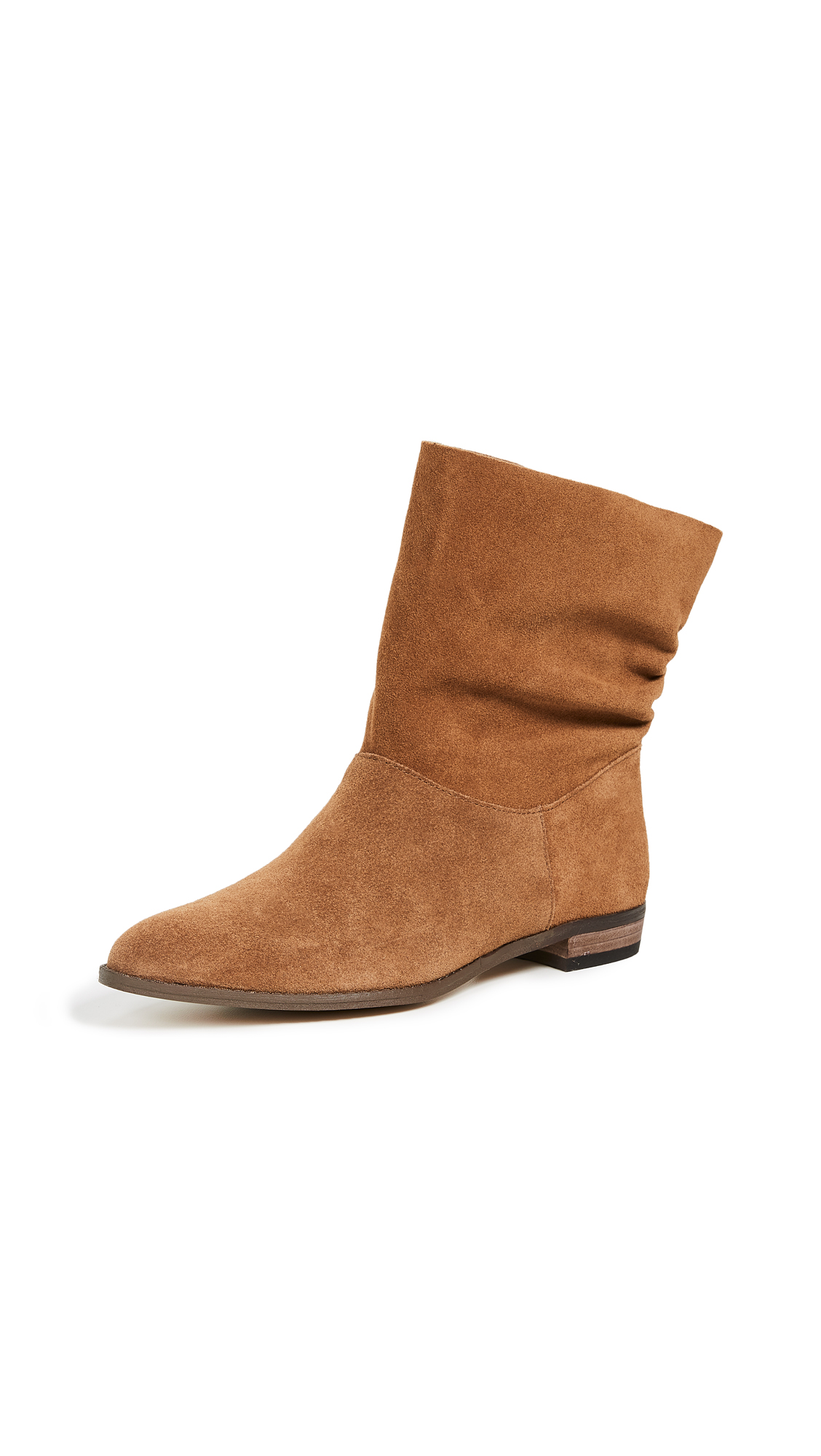 Splendid Claudia Booties - Brandy