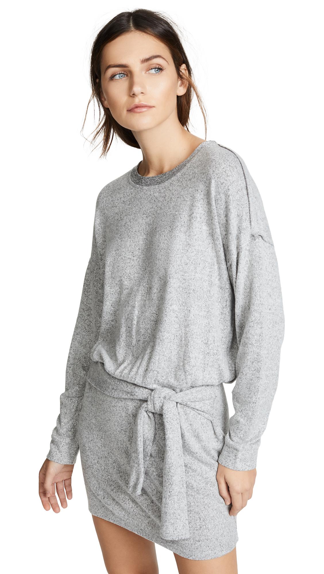 Splendid Addison Jersey Dress - Heather Grey