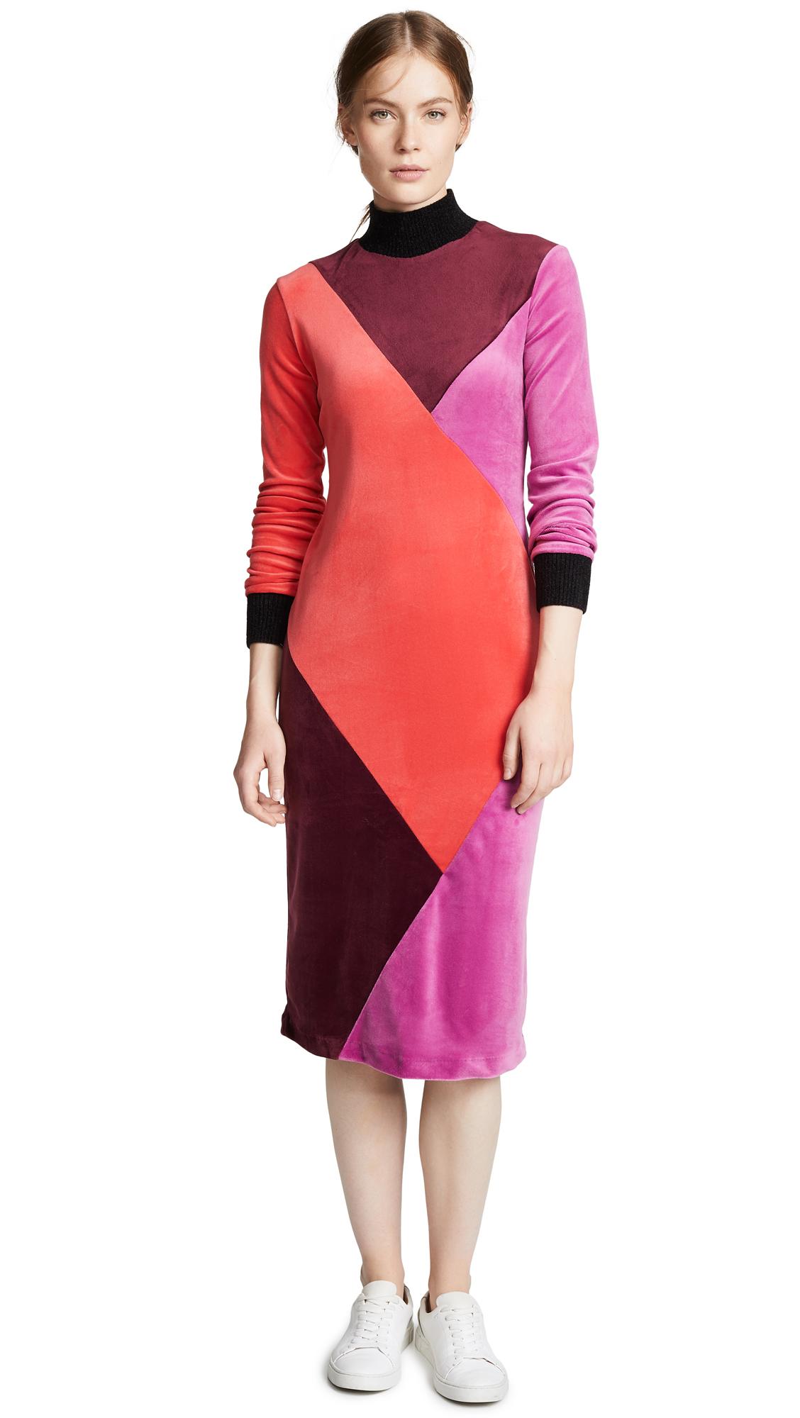 Splendid x Margherita Velutto Dress - Borgogna