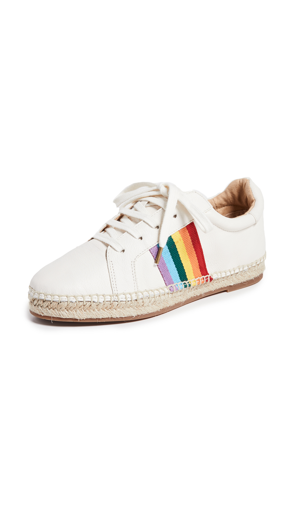 Splendid Sada Espadrille Sneakers - Off White