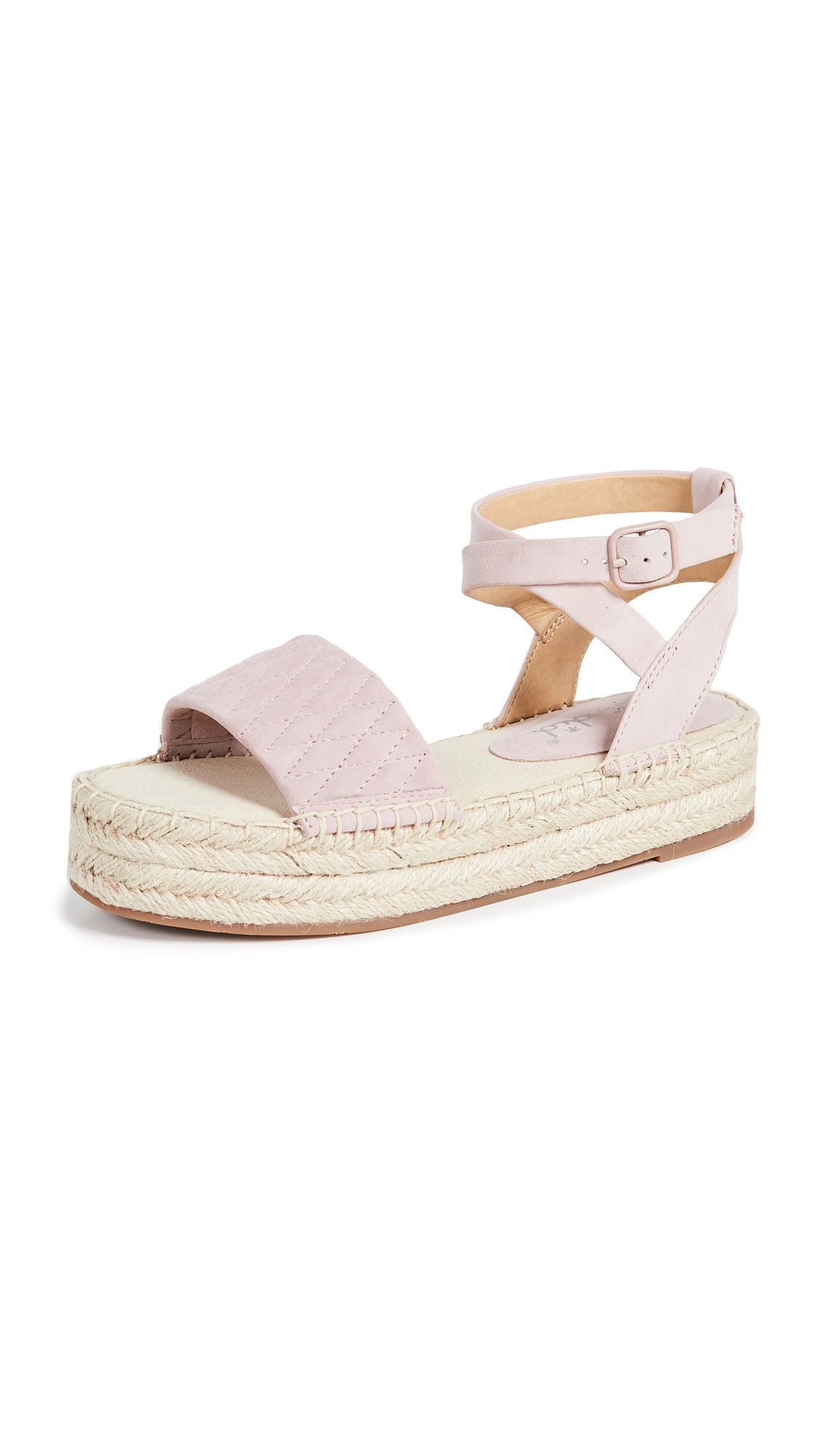 Splendid Seward Strappy Espadrilles - Rose